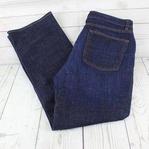Eileen Fisher 12 Organic Cotton Straight Jeans